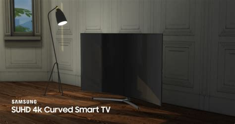 sims 4 electronics downloads sims 4 updates suhd 4k curved smart tv by littledica at mod the sims