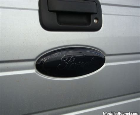 blacked out kia emblem 2012 ford f150 blacked out rear emblem
