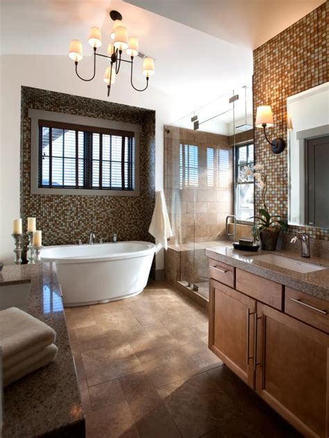 ideas for master bathrooms transitional bathrooms pictures ideas tips from hgtv