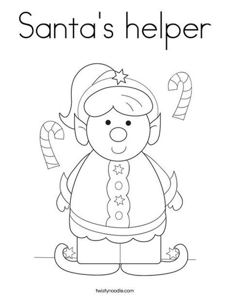 mrs claus coloring page twisty noodle santa s helper coloring page twisty noodle