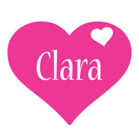 Cool Mugs Clara Logo Name Logo Generator I Love Love Heart