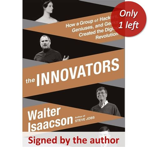 innovators how a group quot the innovators how a group of hackers geniuses and geeks created t the history list store