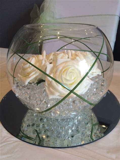 Wedding Centrepiece Ideas by 40 Fish Bowl Decorations For Weddings 25 Best Ideas About