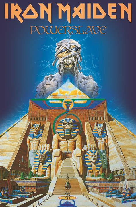 Lucky Home by Iron Maiden Powerslave Textile Poster Heavy Metal Online