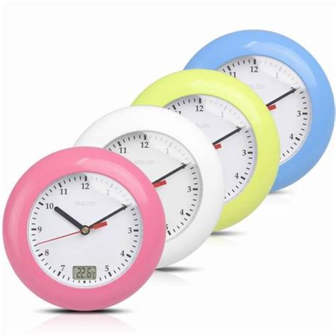 clock buy aliexpresscom buy baldr waterproof analog bathroom clock