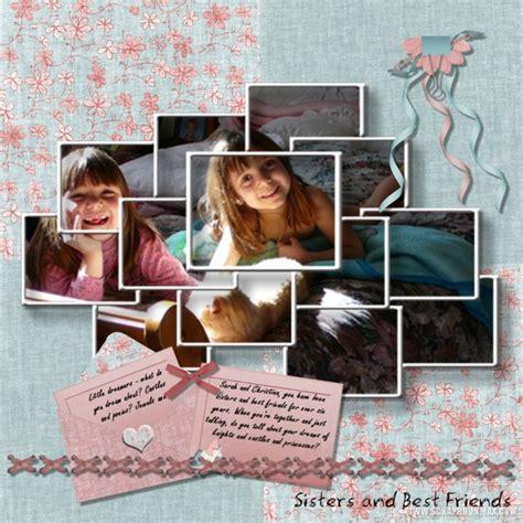 scrapbook layout exles exle scrapbook pages