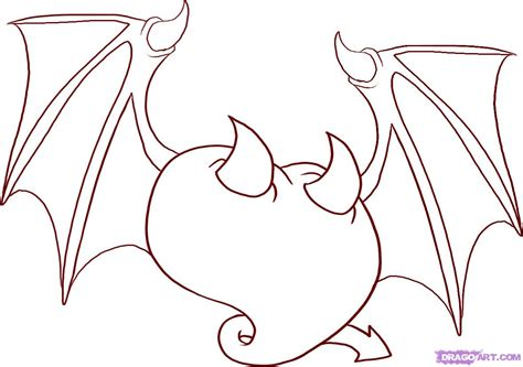 devil heart coloring page drawing of heart cliparts co