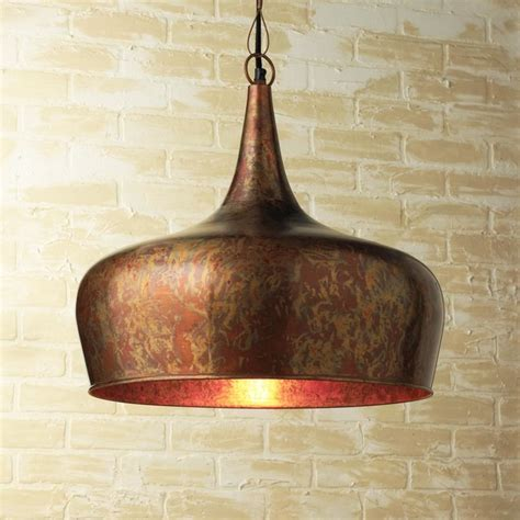 copper onion dome pendant contemporary pendant