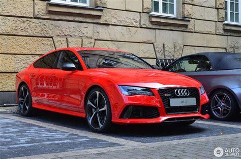 Audi Rs7 Gewicht by Audi Rs7 Sportback 8 September 2013 Autogespot