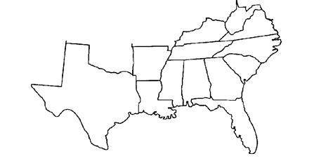 printable map of the southeast united states southern movement assembly south to south