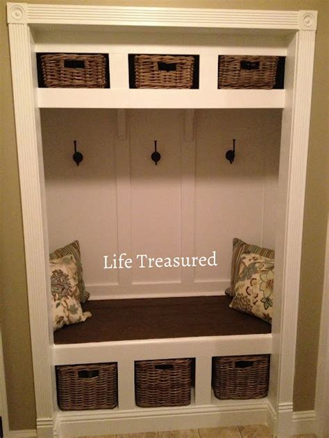 bench in closet ideas closets mudroom turn closets entry ways closets