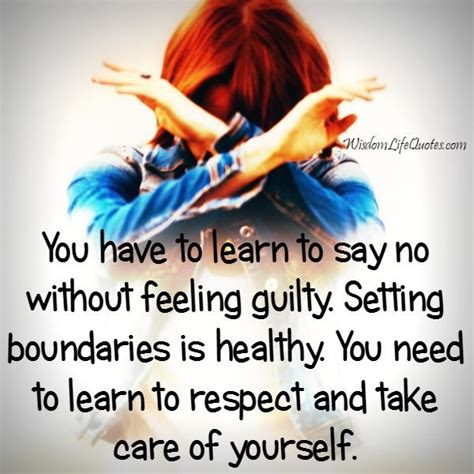 Feeling Guilty No More by You To Learn To Say No Without Feeling Guilty