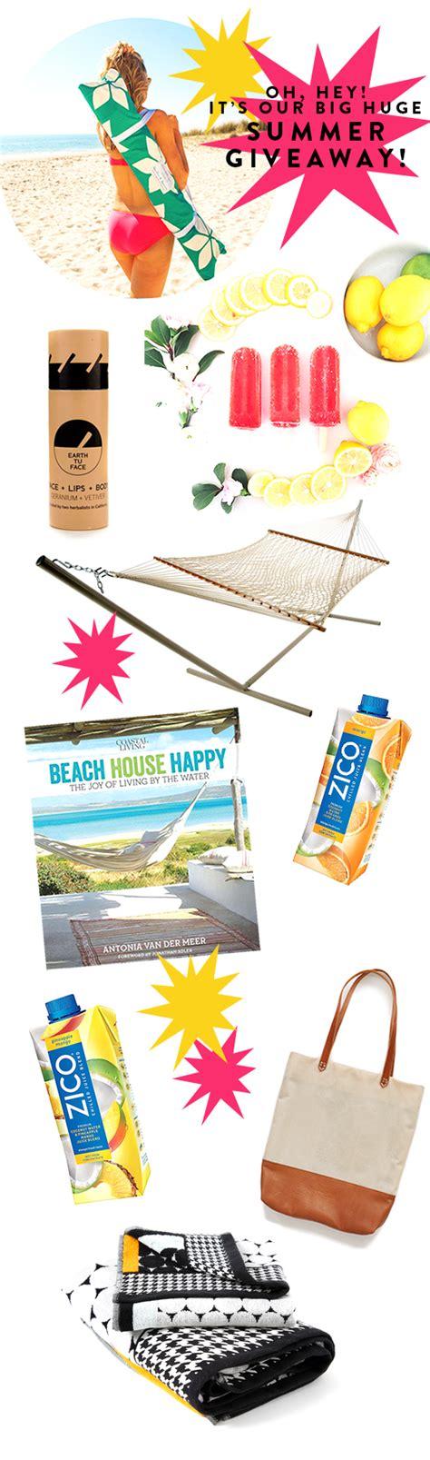 Huge Summer Giveaway - it s the big huge summer giveaway sfgirlbybay