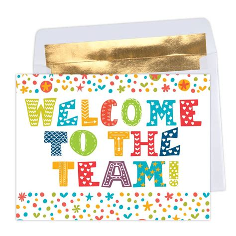 Welcome To The Team Card Template by Welcome To The Team Greeting Card Positive Promotions