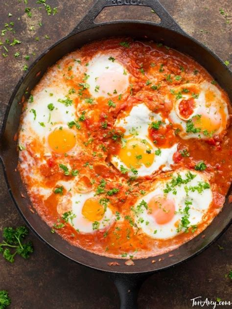 Easy Salad Recipe by Shakshuka Recipe Amp Video For Delicious Middle Eastern