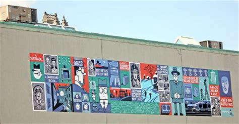 Bookshelf Guelph Seth Creates Large Scale Mural For Downtown Guelph