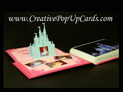 Disney Pop Up Card Template by Disney Castle Pop Up Card