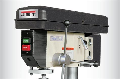 H L Hl8816hd Drill Press by Jet J 2500 15 Inch 3 4 Horsepower 115 Volt Floor Model