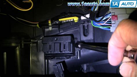 2004 Chrysler Sebring Interior How To Install Replace Ac Heater Fan Speed Resistor