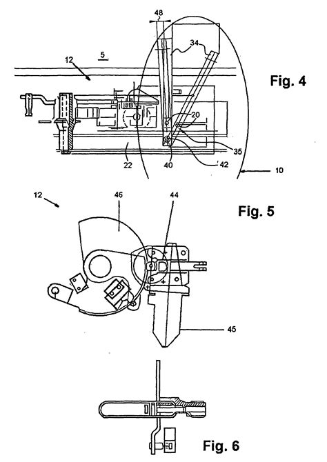 pneumatic swing cl patent ep1256683b1 emergency release mechanism for