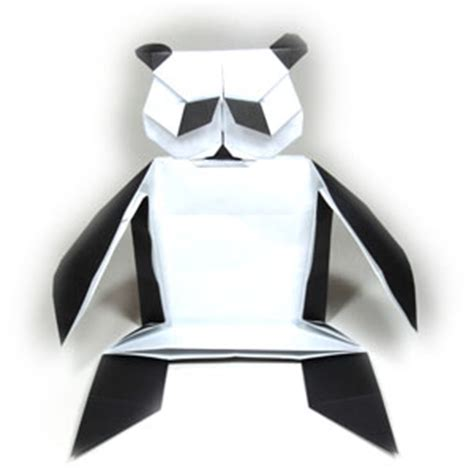 How To Make An Origami Panda - how to make a of origami panda page 1