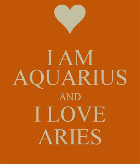 aries and aquarius quotes quotesgram
