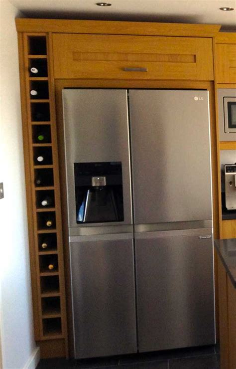 Prices On Kitchen Cabinets by How Do I Box In An American Fridge Freezer Diy Kitchens