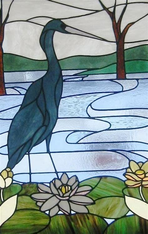 stained glass pattern blue heron 13 best images about blue herons on pinterest