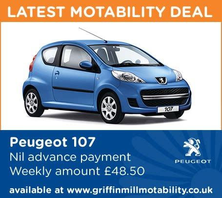 peugeot 107 offers griffin mill peugeot griffin mill garage s page 2