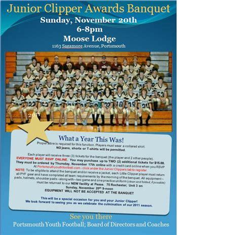 pin sle sports banquet program template pdf word free