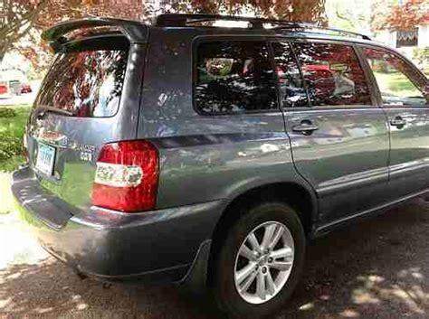 Toyota Highlander Seats 7 Buy Used 2006 Toyota Highlander Hybrid Limited Economical