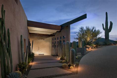 modern house entrance glass entrance modern home in scottsdale arizona