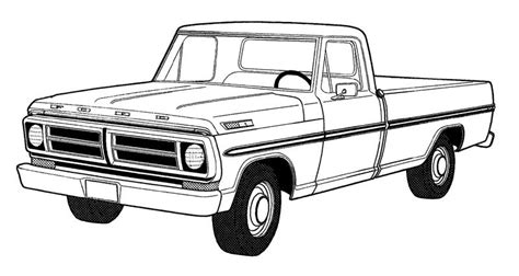 ford trucks coloring page 67 f250 this project is now for sale everything the