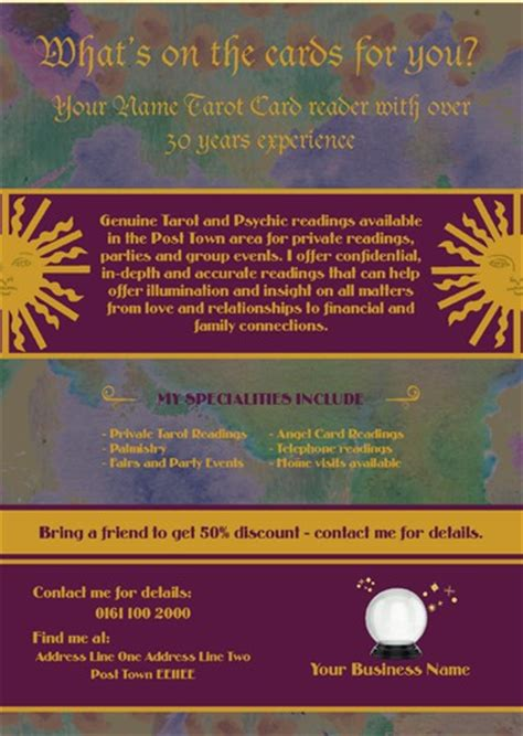 Tarot Card Reading Templates Free by Print Templates Printing