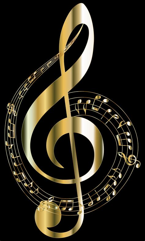 wallpaper gold music gold musical notes typography 2 by gdj miscellaneous