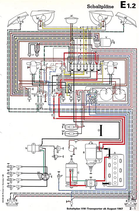 transporter from august 1967 in wiring diagrams wiring
