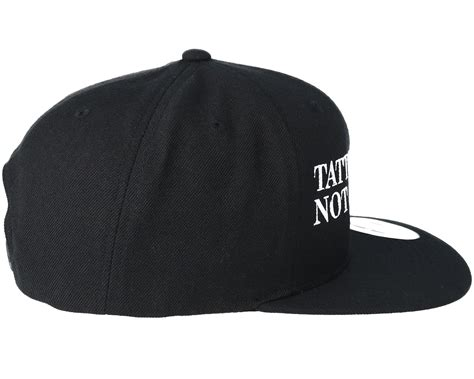collective tattoo tattoos are not a crime black snapback collective