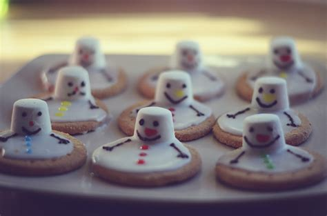 melted snowman biscuits be a fun mum