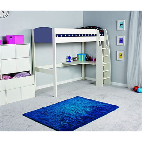 High Sleeper Desk by Buy Stompa Uno S Plus High Sleeper Bed With Corner Desk Lewis