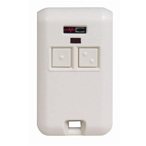 stanley garage door opener remote programming stanley 308302 two button key chain garage door opener