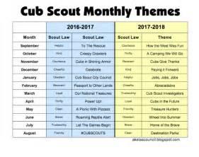cub scout calendar template akela s council cub scout leader cub scout