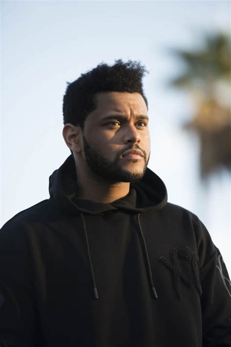 the weeknd d the weeknd and h m unveil spring icons collection complex