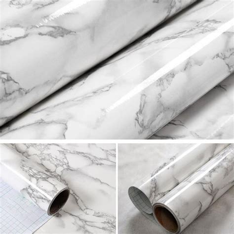 film paper marble effect contact paper film vinyl self adhesive