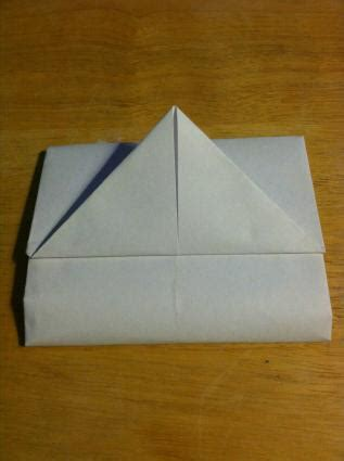 Origami Place Card - how to make origami place cards