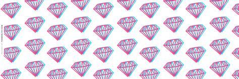 themes ltd banner 3d diamonds twitter header diamond wallpapers