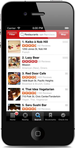 yelp app android 4 invaluable apps for optimizing business travel tech connections