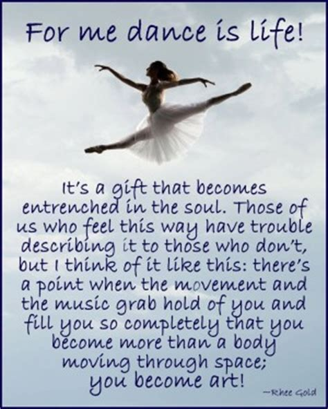 dance team quotes inspirational quotesgram