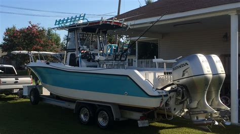 ranger offshore boats ranger 25 offshore with twin 225 hondas the hull truth