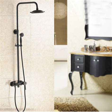 bathtub faucet with handheld shower head glen oil rubbed bronze wall mounted rainfall shower head