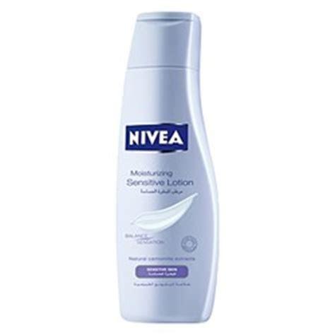 nivea nivea sensitive lotion review